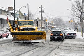 A New Map Service to Reduce Snow-related Collisions